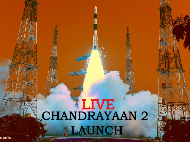 Chandrayaan-2 Launch Live Updates: India to the moon like