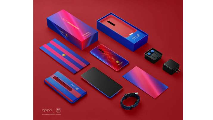 OPPO announces its new Reno 10X Zoom FC Barcelona Edition