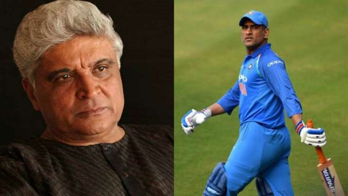 Javed Akhtar, MS Dhoni
