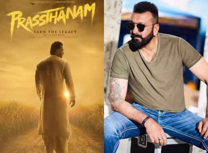 Sanjay Dutt announces his next Bollywood film Prasthanam release date