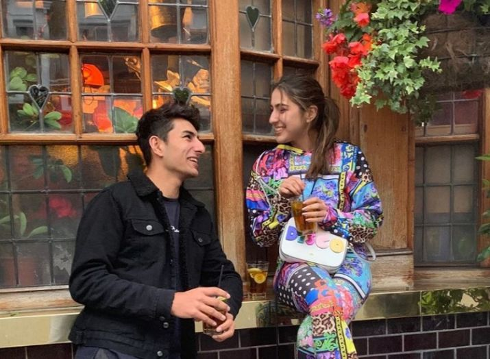 India Tv - Ibrahim with sister Sara