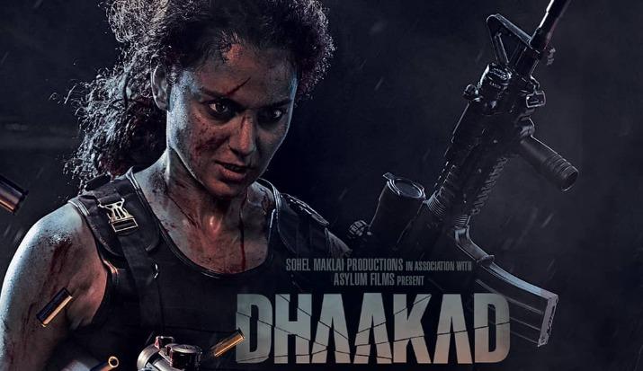 Dhaakad: Kangana Ranaut looks ferocious in action thriller's latest poster