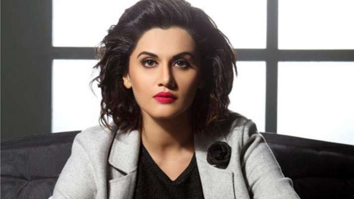 Taapsee Pannu urges media to recommend her name to makers of Mithali Raj biopic