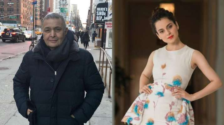 Rishi Kapoor supports Kangana Ranaut over media controversy