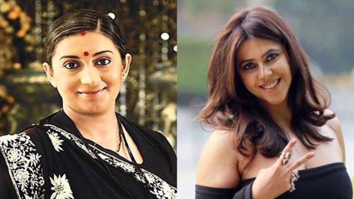 Smriti Irani tries FaceApp old age filter but it has Ekta Kapoor connection