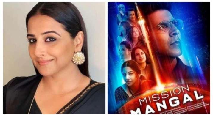 Vidya Balan reveals why she said yes to Mission Mangal