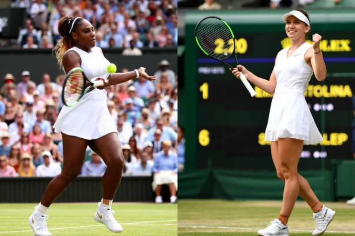 Serena Williams to face Simona Halep in Wimbledon final