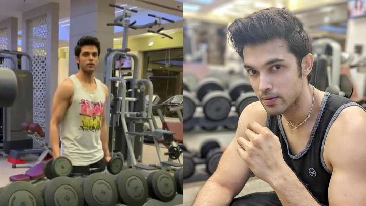 Parth Samthaan shares his secret by going shirtless, sets Wednesday motivation goals
