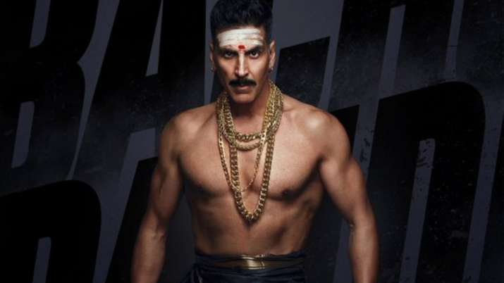 Bollywood actors Akshay Kumar's rowdy South Indian look will leave you excited for Bachchan Pandey.