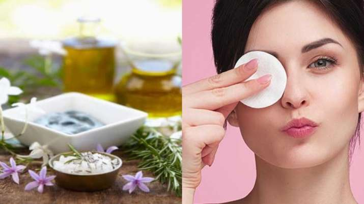 Ran out of your make-up remover? Don't worry, make it at home