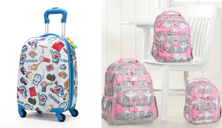 Trolley bags better than backpacks for schoolkids