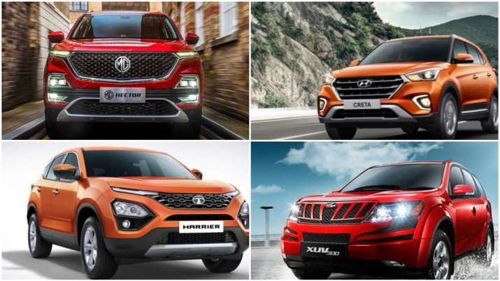 How does MG Hector stack up against XUV500, Tata Harrier