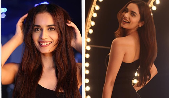 Manushi Chhillar's latest pictures in black one-shoulder mini dress will brighten up your day