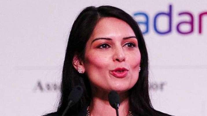 Britain's Indian-origin Home Secretary Priti Patel