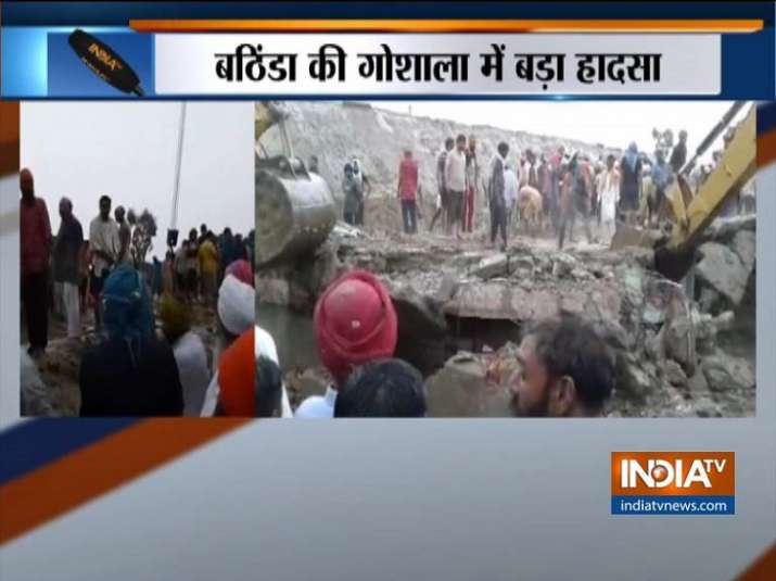 Bhatinda roof collapse
