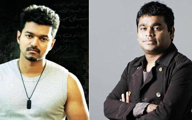 Bigil Latest Update: Actor Vijay turns singer for A R