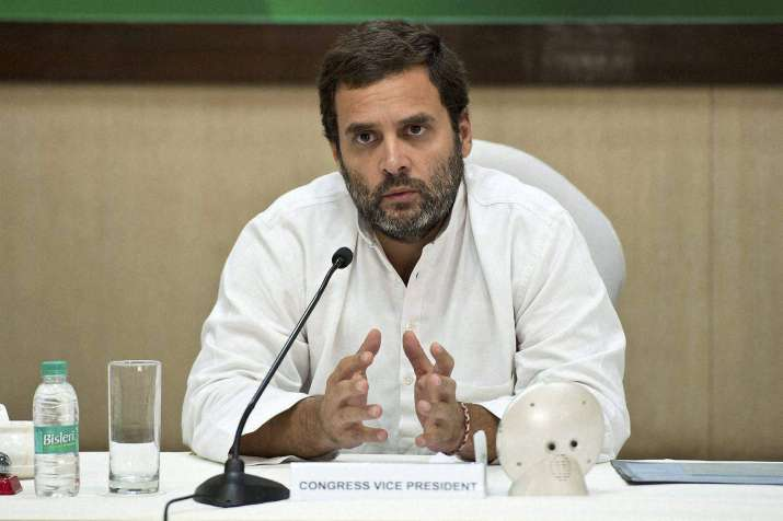 Rahul Gandhi has finally made his resignation as Congress