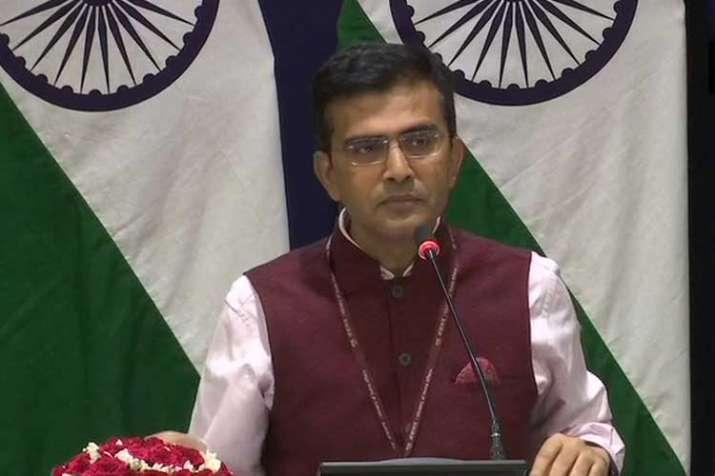 Ministry of External Affair spokesperson Raveesh Kumar