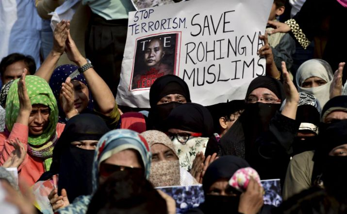 Rohingya Muslims attempt to enter Tripura prevented | India