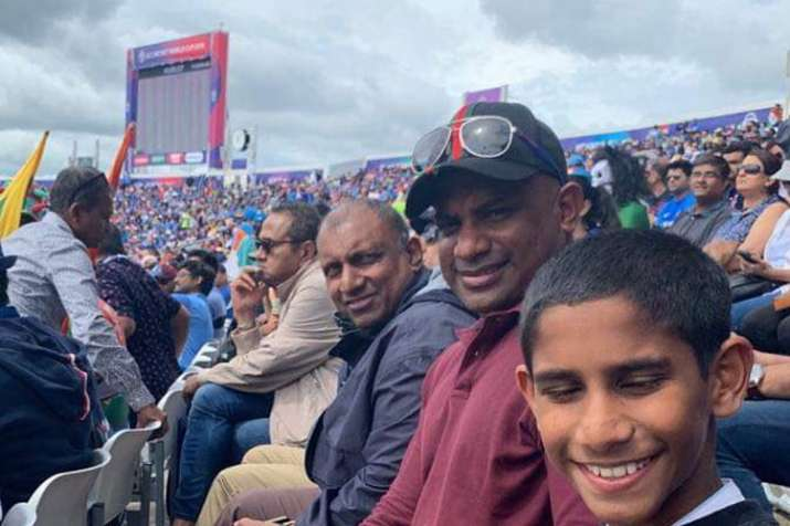 2019 World Cup: Banned Sanath Jayasuriya watches IND vs SL game from stands, not to get access to te