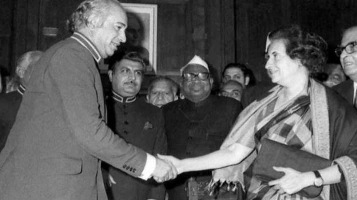 Shimla Agreement, the treatise on peace between India and