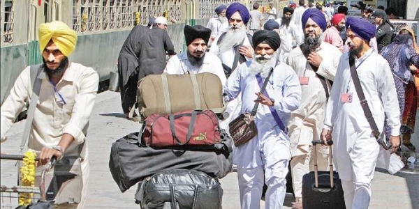Sikh 'Jatha' returns to India after attending event in