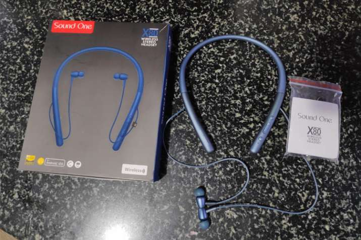 Sound One X80 Review: Great wireless neckband Bluetooth
