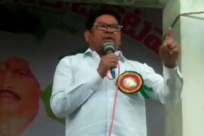 BJP MP from Adilabad seat Soyam Bapu Rao