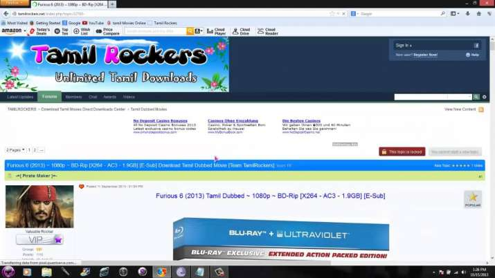 TamilRockers Tamil Movies Website all need to know