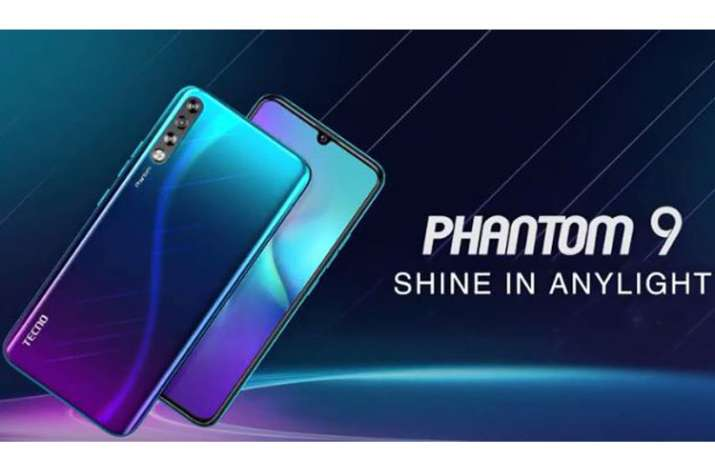 TECNO Phantom 9 with an in-display fingerprint scanner and triple rear cameras launched in India