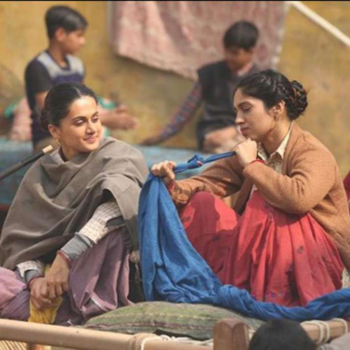 Saand Ki Aankh: This latest BTS picture of Taapsee Pannu and Bhumi Pednekar will leave you excited