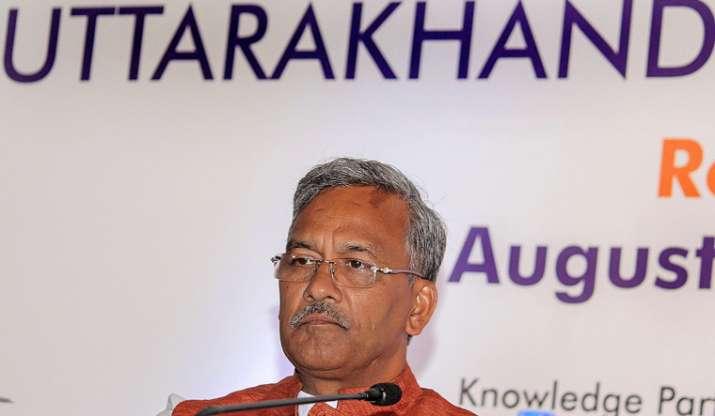 Uttarakhand Chief Minister Trivendra Singh Rawat