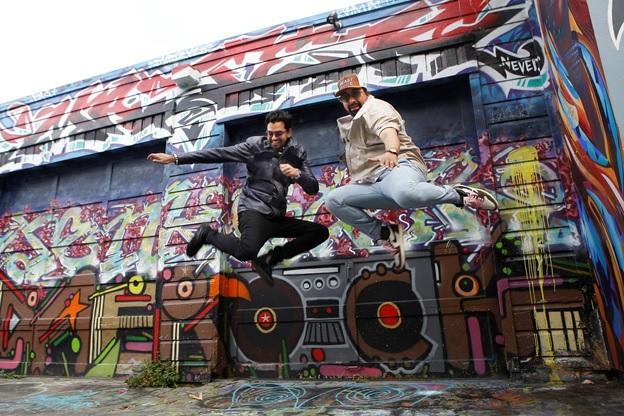India Tv - Urban Graffiti at Clarion Alley, San Francisco