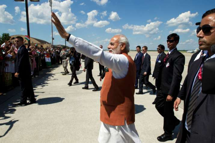 PM Modi in the US
