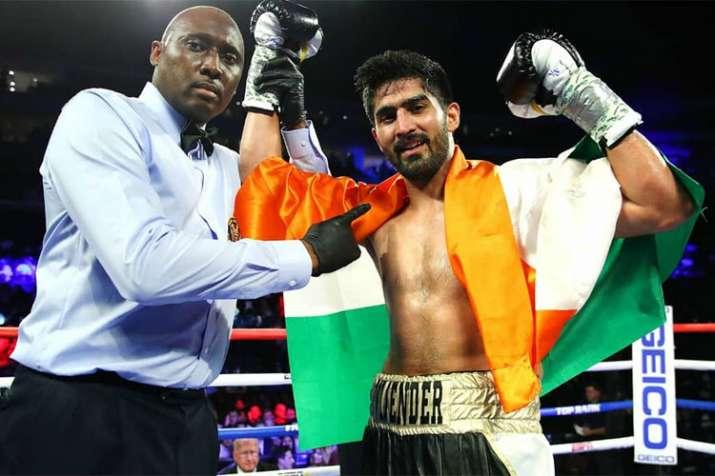 No stopping Vijender Singh, wins 11th successive pro bout to continue unbeaten run
