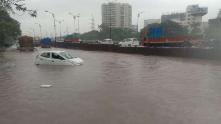 India Tv - Sion-Panvel highway