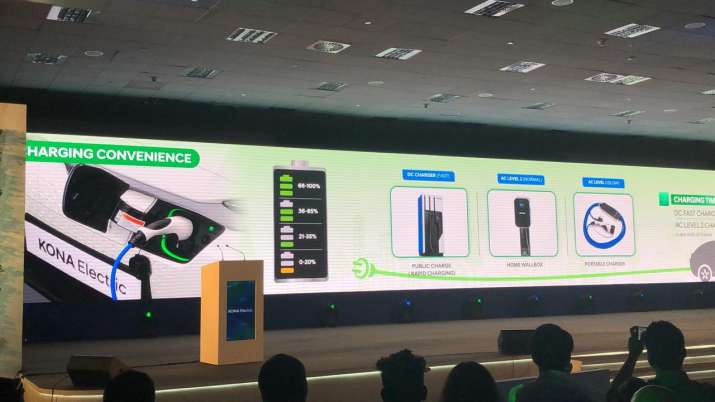 India Tv - Kona Electric SUV comes with 3 charging options
