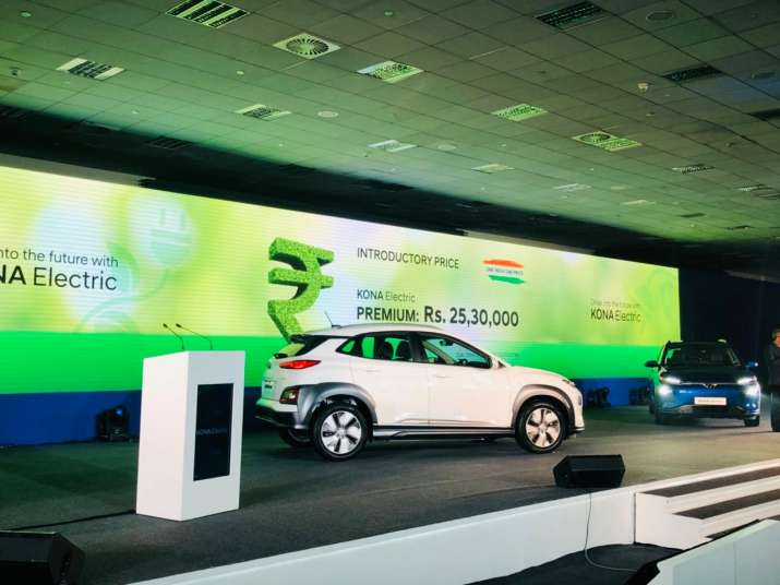 India Tv - Hyundai Kona Electric SUV launched in India