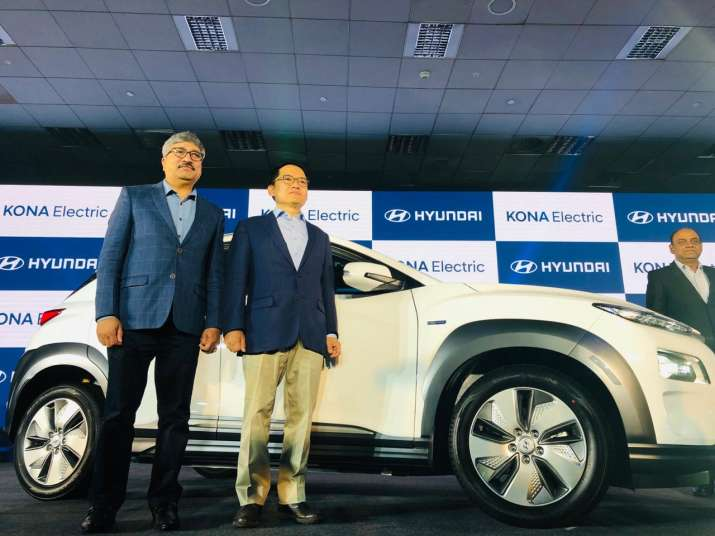 India Tv - Hyundai Kona Electric launch event