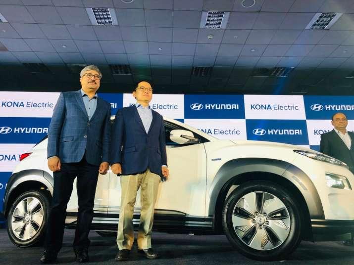 Hyundai launches SUV Kona Electric at Rs 25.3 lakh