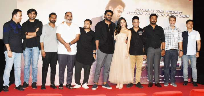 India Tv - Saaho Trailer Launch