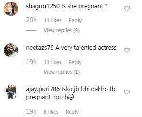 India Tv - Comments on Vidya Balan's pictures,Vidya Balan pregnancy news