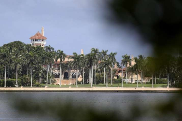 President Donald Trump's Mar-a-Lago resort is potentially sitting directly in the path of Hurricane
