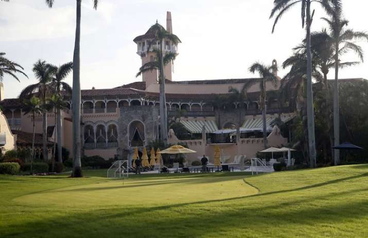 India Tv - President Donald Trump's Mar-a-Lago resort in Palm Beach, Fla. Trump's prized resort in Florida is potentially sitting directly in the path of Hurricane Dorian, which is forecast to become an extremely destructive storm. The resort, which is currently closed for the summer, is on the wealthy barrier island of Palm Beach.
