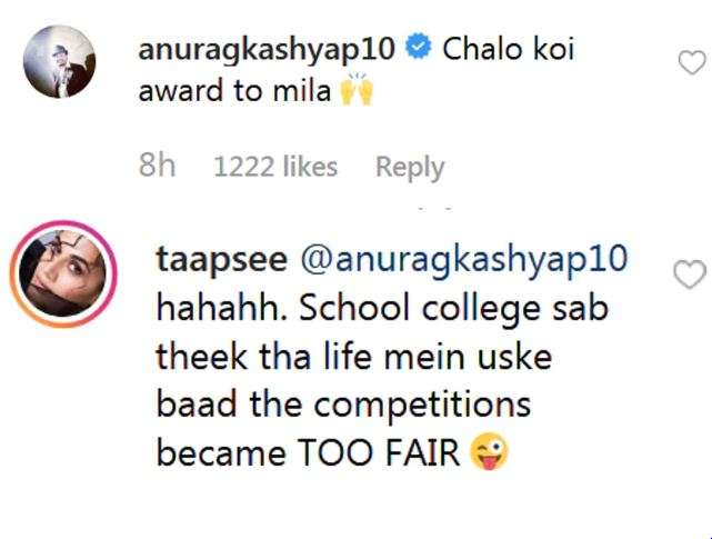 India Tv - Anurag Kashyap takes a dig at Taapsee Pannu