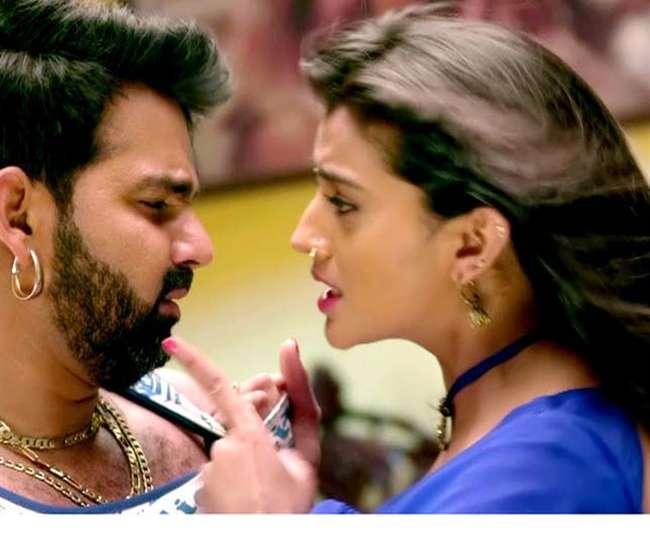 India Tv - Akshara Singh and Pawan Singh