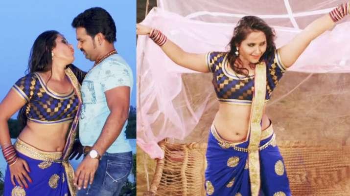 India Tv - Pawan Singh and Kajal Raghwani's popular song