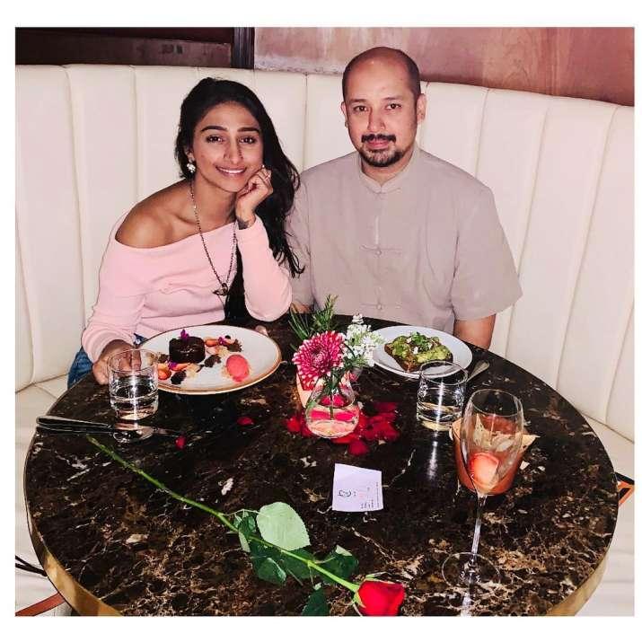 India Tv - Mohena Kumari Singh and her fiance Suyesh Rawat