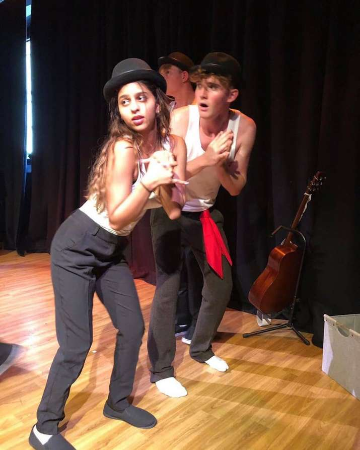 Suhana Khan preparing for her play in college