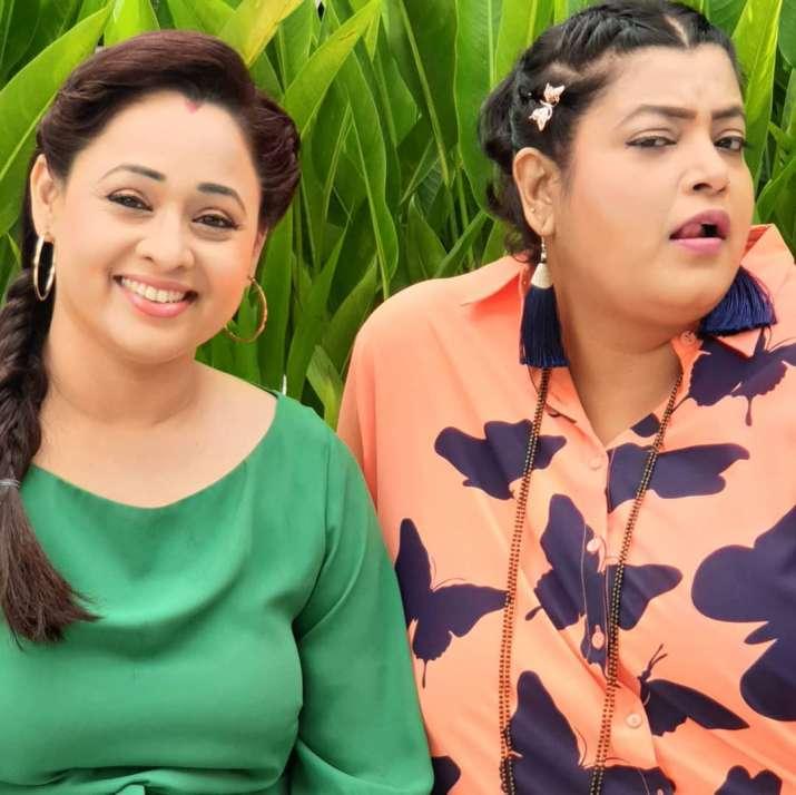 India Tv - Taarak Mehta Ka Ooltah Chashmah actress Sonalika Joshi aka Mrs Bhide